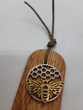 Load image into Gallery viewer, Wooden Bookmark - Cornish Oak - Beautiful Creatures - silver