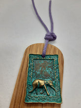 Load image into Gallery viewer, Wooden Bookmark - Cornish Oak - Bronze Patina