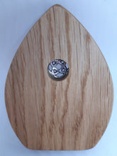 Load image into Gallery viewer, Wooden Fairy Door - Cornish Oak - Celtic Knot