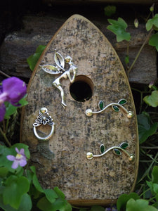 Organic Fairy Door - Whispering Fairy