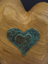 Load image into Gallery viewer, Wall Art - Heart #5 Olive Ash