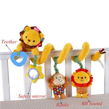 Load image into Gallery viewer, Baby Musical Mobile Toys for Bed/Crib/Stroller Plush Baby Rattles Toys for Baby Toys 0-12 Months Infant/Newborn Educational Toys