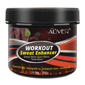 200G Workout Sweat Enhancer Slimming Abdomen Muscle Building Fat Burning Anti Cellulite Body Slimming Cream For Men