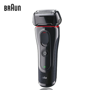 Braun Men's ELectric Shaver Series 5 5030s Electric Razor Foil Shaver Pop Up Precision Trimmer Rechargeable And Cordless Comfort