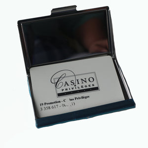 Stainless Steel Metal Credit Card & Business Card RFID Case- Canadian Beaver