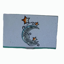 Load image into Gallery viewer, business card case- moon & stars