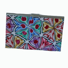 Load image into Gallery viewer, business card case- rainbow flowers