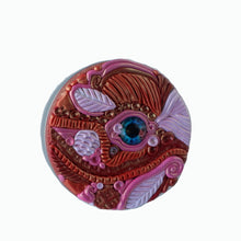 Load image into Gallery viewer, Round Tin Box-Medium- Pink Dragon Eye