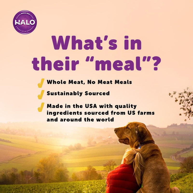 Halo Adult Grain Free Holistic Surf & Turf Recipe Dry Dog Food