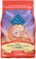 Blue Buffalo Hairball & Weight Control Natural Chicken & Brown Rice Adult Dry Cat Food