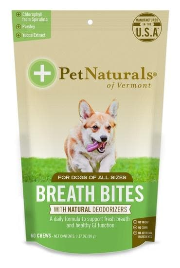 Pet Naturals of Vermont Breath Bites Dental Chews for Dogs