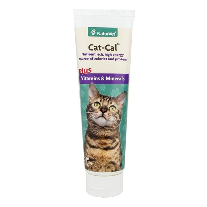 NaturVet Cat-Cal Nutritional Gel with Vitamins & Minerals Cat Supplement