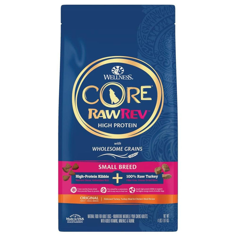 Wellness CORE RawRev Wholesome Grains Original Small Breed Recipe Dry Dog Food