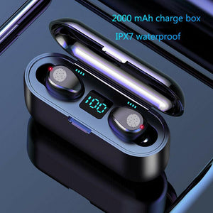 Bluetooth 5.0 Headset TWS Wireless Mini Earbuds