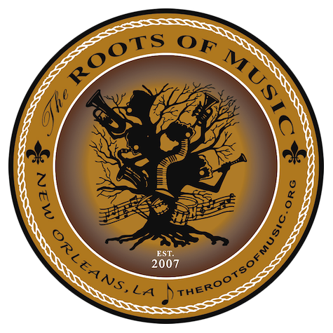The Roots Of Music Logo Car Magnet