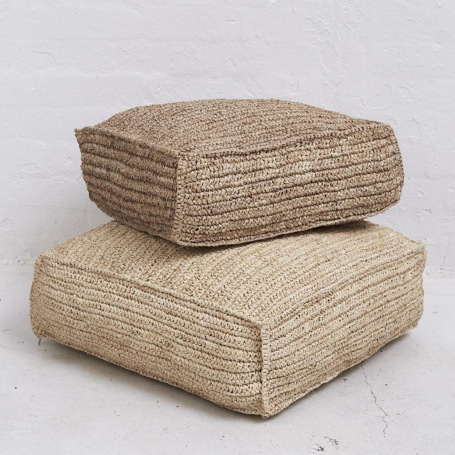 Square Seagrass Floor Cushion