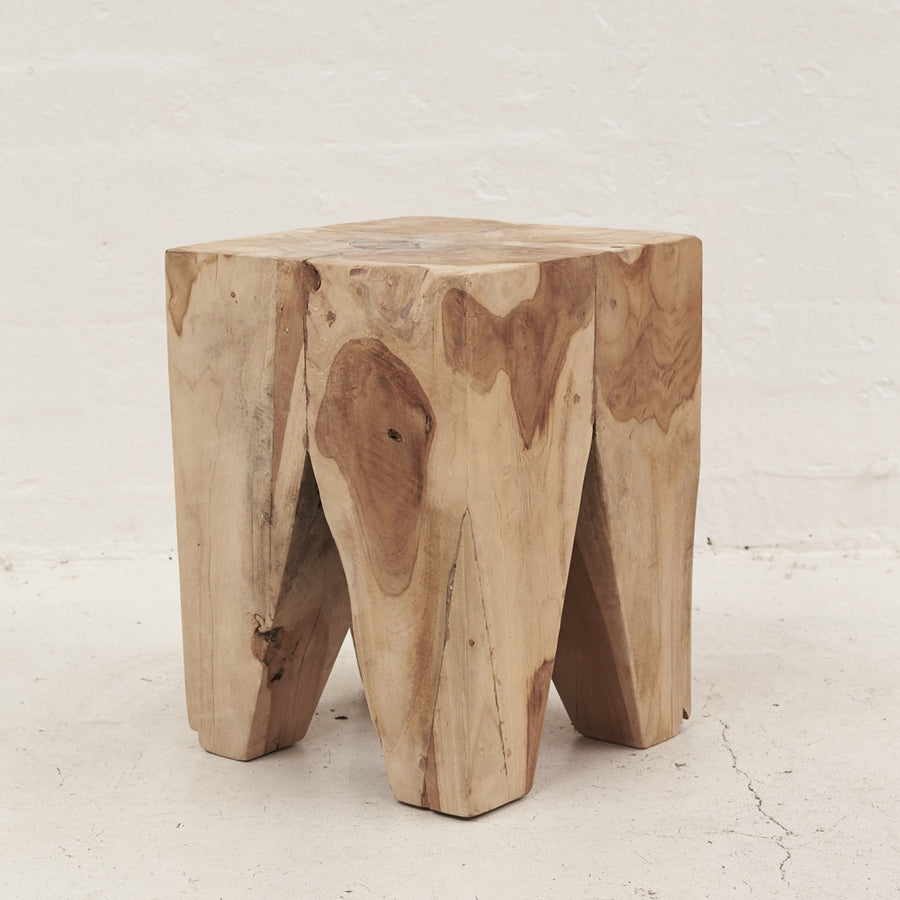Rafi Peg Stool / Sidetable
