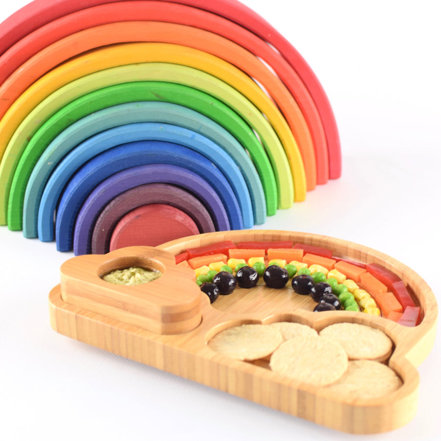 Rainbow Plate with Suction