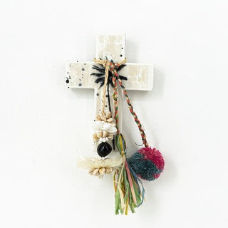 Palm Shell Mini Cross