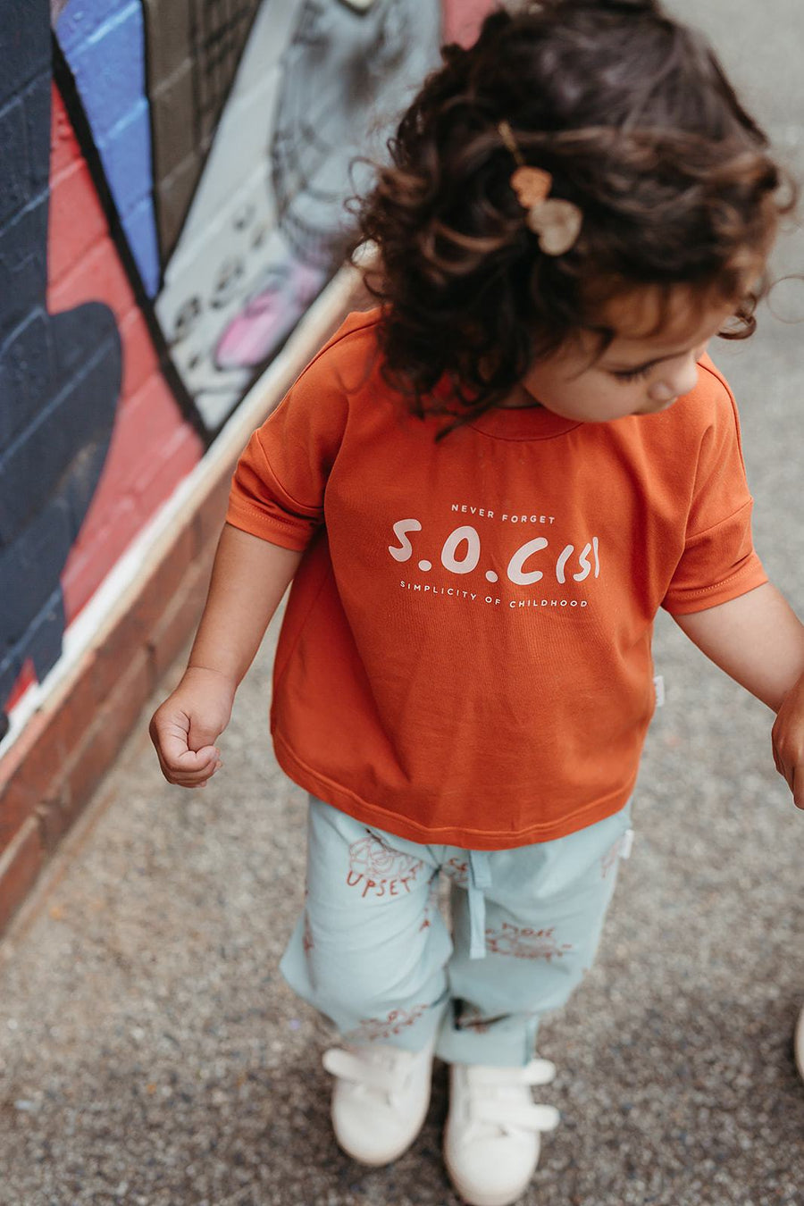 Simplicity of Childhood (SOC) Boxy Tee