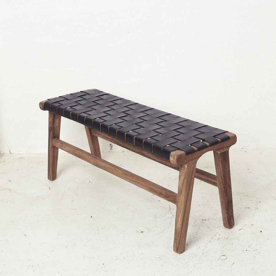 Kemi Leather Bench Seat