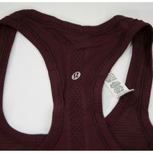 Load image into Gallery viewer, Lululemon Garnet Swiftly Tech Racerback Athletica Tank Top Sz 6 NWT