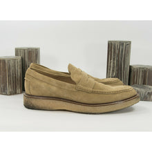 Load image into Gallery viewer, Tods Tan Suede Penny Loafer Oxford Size 11