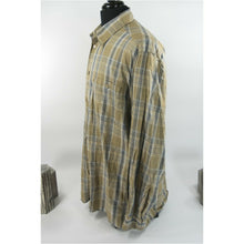 Load image into Gallery viewer, Ermenegildo Zegna Plaid Cotton Button Down Sport Work Shirt L EUC
