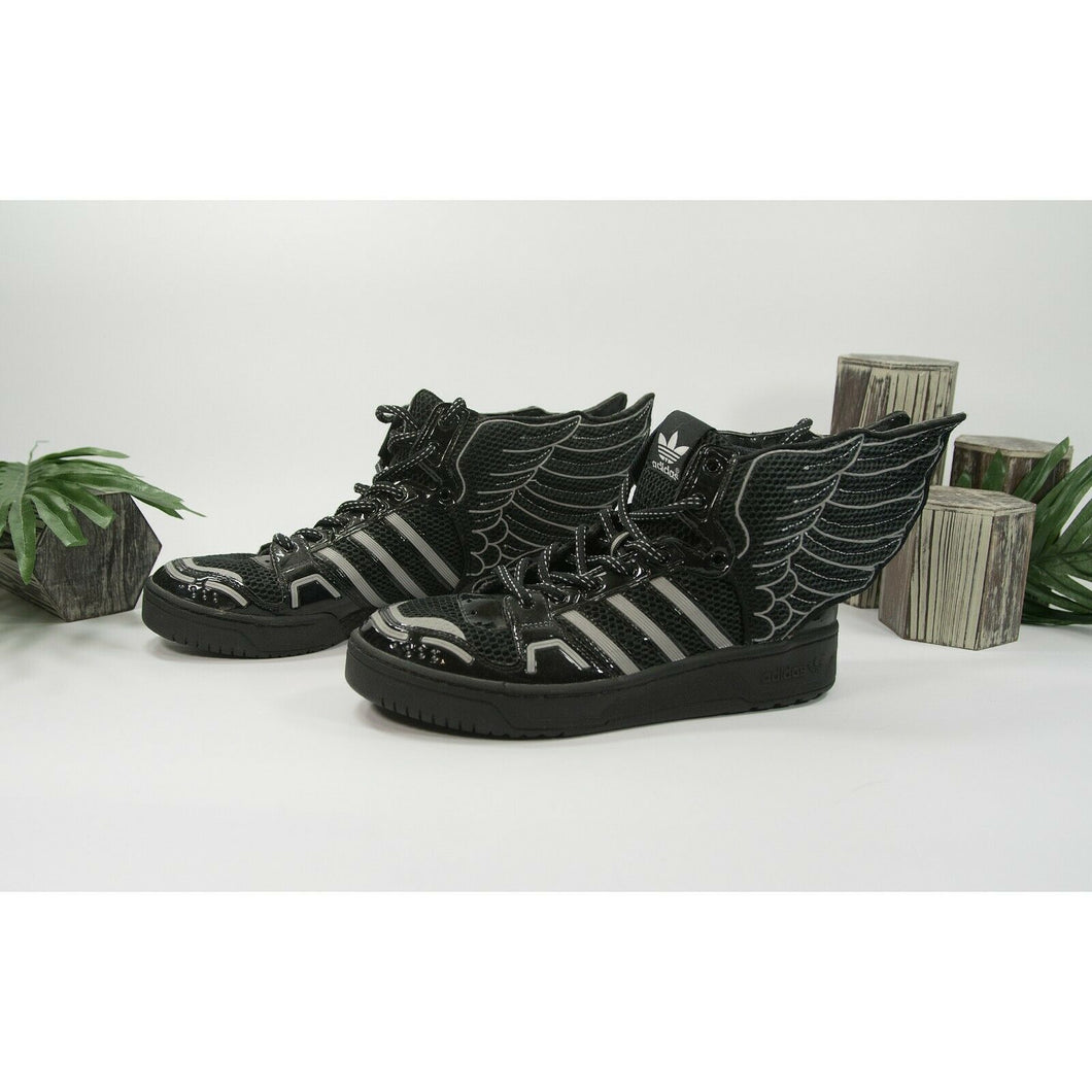 Adidas Jeremy Scott Black Wings Showstopper Sneaker Shoes Size 9