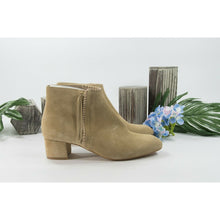 Load image into Gallery viewer, Maje Camel Suede Felicia Bootie Ankle Boot Shoes Sz 39 9