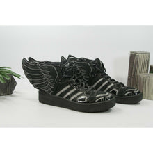 Load image into Gallery viewer, Adidas Jeremy Scott Black Wings Showstopper Sneaker Shoes Size 9