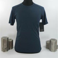 Load image into Gallery viewer, Lululemon Mens Blue Metal Vent Tech Short Sleeve Fitted T-shirt M NWT