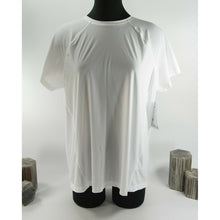 Load image into Gallery viewer, Athleta Bright White Ultimate Train Tee Size L NWT