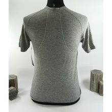 Load image into Gallery viewer, Lululemon Mens Grey Metal Vent Tech Short Sleeve Fitted T-shirt XS NWT