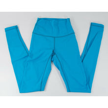 Load image into Gallery viewer, Lululemon Wunder Under Pool Blue Tight Fit Leggings NWOT Size 2 C18