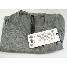 Load image into Gallery viewer, Lululemon Mens Grey Metal Vent Tech Short Sleeve Fitted T-shirt L NWT