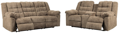 Workhorse Signature Design Contemporary 2-Piece Living Room Set