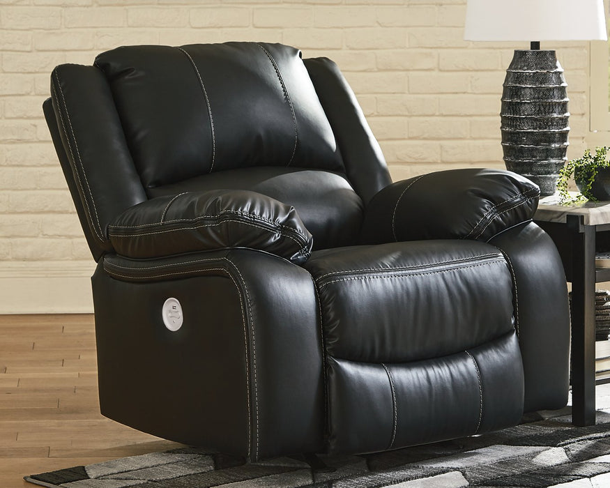 Calderwell Signature Design by Ashley Power Rocker Recliner image