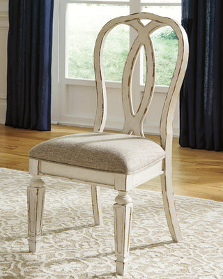 Realyn Signature Design by Ashley Dining Chair Set of 2