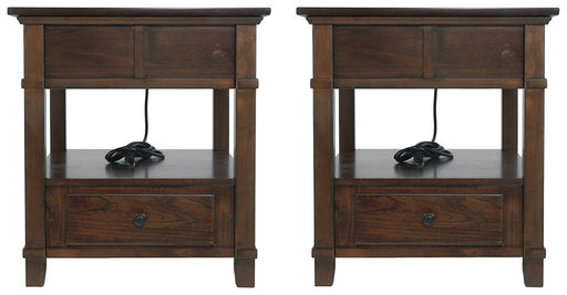 Gately Signature Design 2-Piece End Table Set image