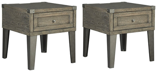 Chazney Signature Design 2-Piece End Table Set image