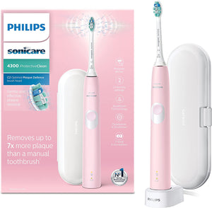 Philips Sonicare ProtectiveClean 4300 Electric Toothbrush | Pink