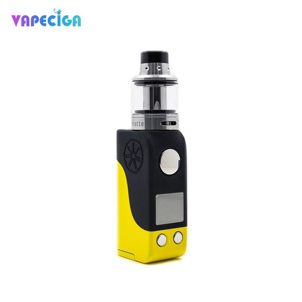 Asmodus Mini Minikin TC Mod Kit White Yellow