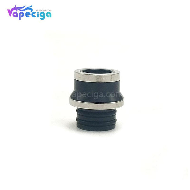 Coppervape 510 Drip Tip for Hussar Project X Style RTA Black + Silver