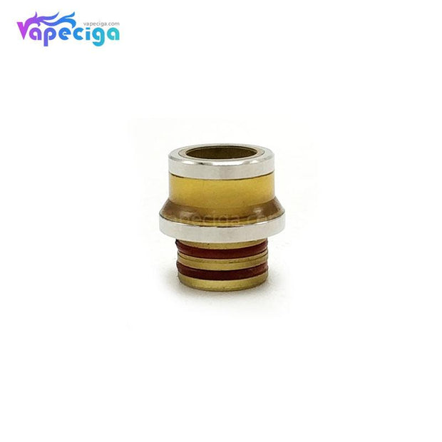 Coppervape 510 Drip Tip for Hussar Project X Style RTA Yellow + Stain Gray