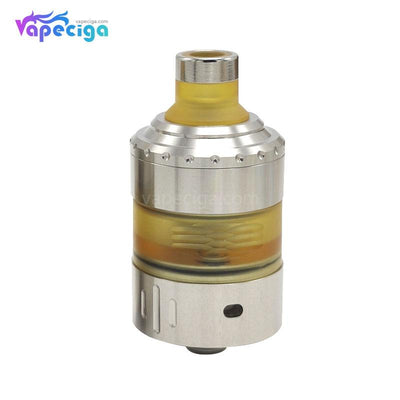 Coppervape Hussar Project X Style MTL RTA 2ml 22.5mm Raw Silver