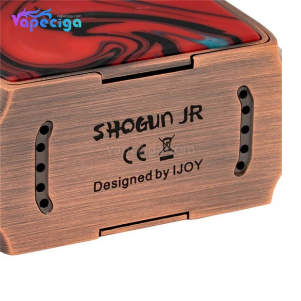 IJOY Shogun JR TC Box Mod 126W 4500mAh Bottom Details