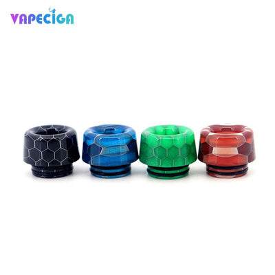 Resin 810 Drip Tip 4PCs 4 Colors Available