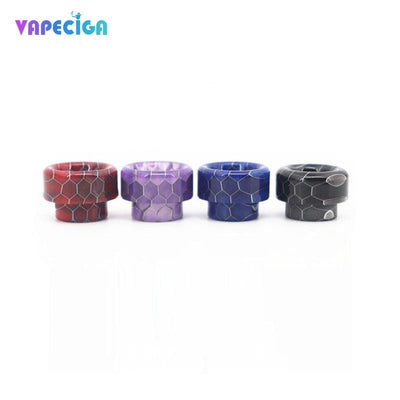 Resin Bare 810 Drip Tip 4PCs 4 Colors Package