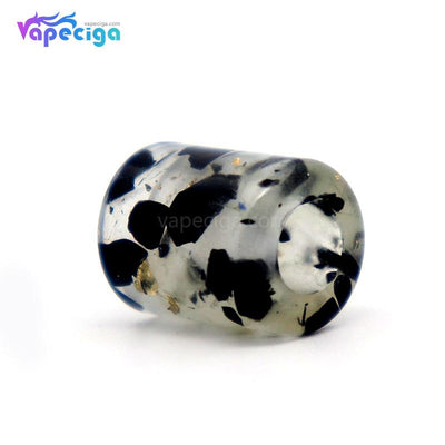 Black YUHETEC Luminous Resin Drip Tip for Lost Vape Shion